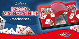 NORIS Spiele Karten-Mischmaschine mechanisch