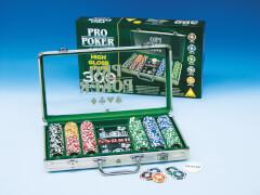Piatnik 7903 Pokerset im Koffer, mit 300 High Gloss Chips