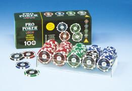 Piatnik 7905 High Gloss Pokerchips 100 Stück 14g