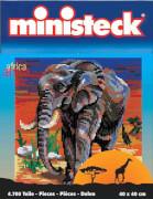 Ministeck Afrika: Elefant ca. 4700 Teile