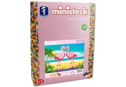Ministeck Flamingos mit 800 Teilen