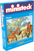 Ministeck Pferde 4-in-1, 1600 Teile