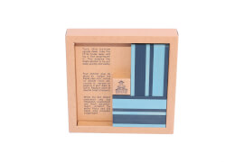 KAPLA® Buch und Farben Set - Hellbl/Dunkelbl - CB