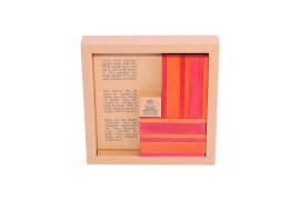 KAPLA® Buch und Farben Set - Rote/Orange - CR
