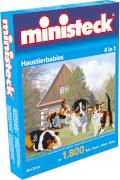 Ministeck Haustierbabies 4-in-1, 1800 Teile