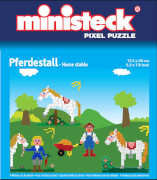 Ministeck Pferdestall 4-in-1