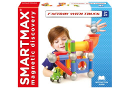 SmartMax Factory with Truck 40-teilig - Magnetspiel
