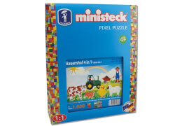 Ministeck Bauernhof 4in1 XL Box  mit 1.000 Teilen