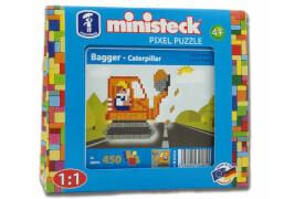 Ministeck Travelbox Bagger mit 450 Teilen