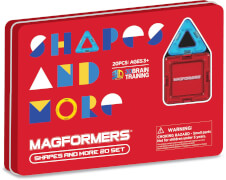 Magformers Shapes and more 20 Teile