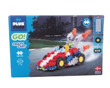 Plus-Plus - Crazy Cart Rennauto 240 Teile