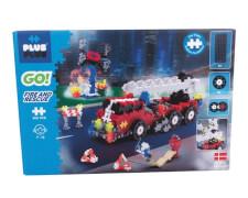 Plus-Plus - Feuerwehrauto 500 Teile