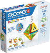 Geomag Supercolor Panels Recycled 35 pcs