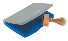 Stempelkissen 2E blau Kunststoff-Gehäuse 7x11cm i.d.Fsc