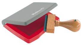 Stempelkissen 3E rot Kunststoff-Gehäuse 5x7cm i.d.Fsc