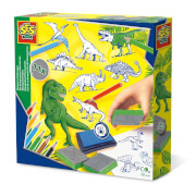 Stempelset Dinos