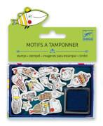 Ministempel: Lustige Fische