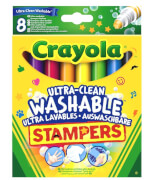Goliath 256343 Crayola 8 Mini Stempel