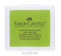Faber-Castell 3 Knetgummi Radierer - lemon, türkis, brombeer