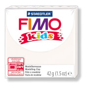 Fimo kids, 42g, weiß