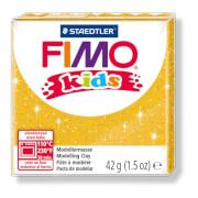 Fimo kids, 42g, glitter gold