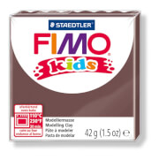 Fimo kids, 42g, braun