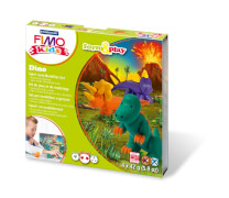 Fimo kids Form&Play Dino, 4 x 42 g, SB-Box