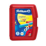 Pelikan Knetmasse Creaplast Kinderknete 198/9R rot, 9 Farben, 300g