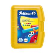 Pelikan Knetmasse Creaplast Kinderknete 198/9G gelb, 9 Farben, 300g