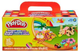 Hasbro Play-Doh Super Farbenset (20er Pack)