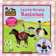 Leicht-Knete Bastelset Mein kleiner Ponyhof