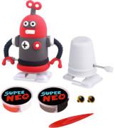 Knetfiguren Roboter zum Aufziehen Super Neo,