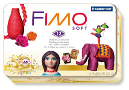 FIMO soft Nostalgie Metall Box 12x57g