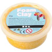 Wolkenschleim Foam Clay® gelb 35g Dose