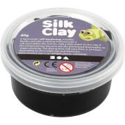 Gummischleim Silk Clay® schwarz 40g Dose