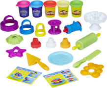 Hasbro B9741EU4 Play-Doh Backset, ab 3 Jahren