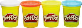 Hasbro B6508ES0 Play-Doh 4er Pack Grundfarben blau, gelb, rot und weiß