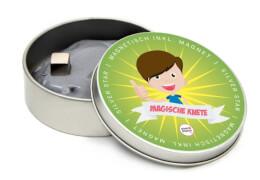 Magische Knete magnetisch Silver Star 85 Gramm