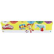 Hasbro C3898EU4 Play-Doh 6er-Pack Knete Grundfarben, ab 2 Jahren
