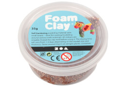 Foam Clay® Braun 35 Gramm