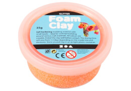 Foam Clay® Orange 35 Gramm