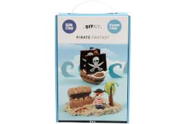 Bastelset Piraten aus Knetmasse mit Foam Clay®, Silk Clay® und Sandy Clay®