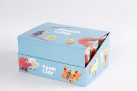 Foam Clay® Glitter- und Metallic-Set, sortiert