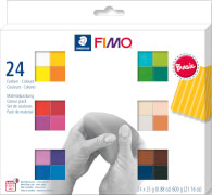 FIMO soft Basic Colours 24 Stück