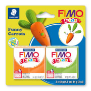 FIMO Kids kit funny carrots