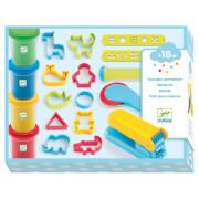 Knete 3-6: Starterset Knete 4 Dosen & 15 Werkzeuge