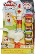 Hasbro E66475L0 Play-Doh Verrücktes Huhn, Bauernhof-Spielset
