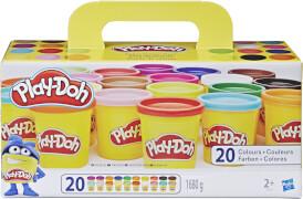 Hasbro A7924EUC Play-Doh Super Farbenset (20er Pack)