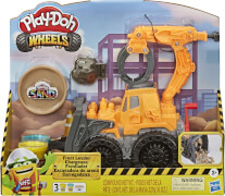 Hasbro E92265L0 Play-Doh Wheels Frontlader mit Sandknete