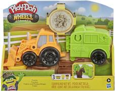 Hasbro F10125L0 Play-Doh Traktor mit Pferdeanhänger